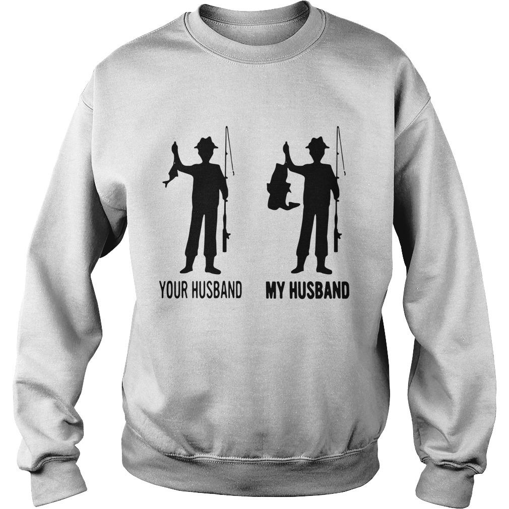 Fishing Your Husband My Husband Sweater