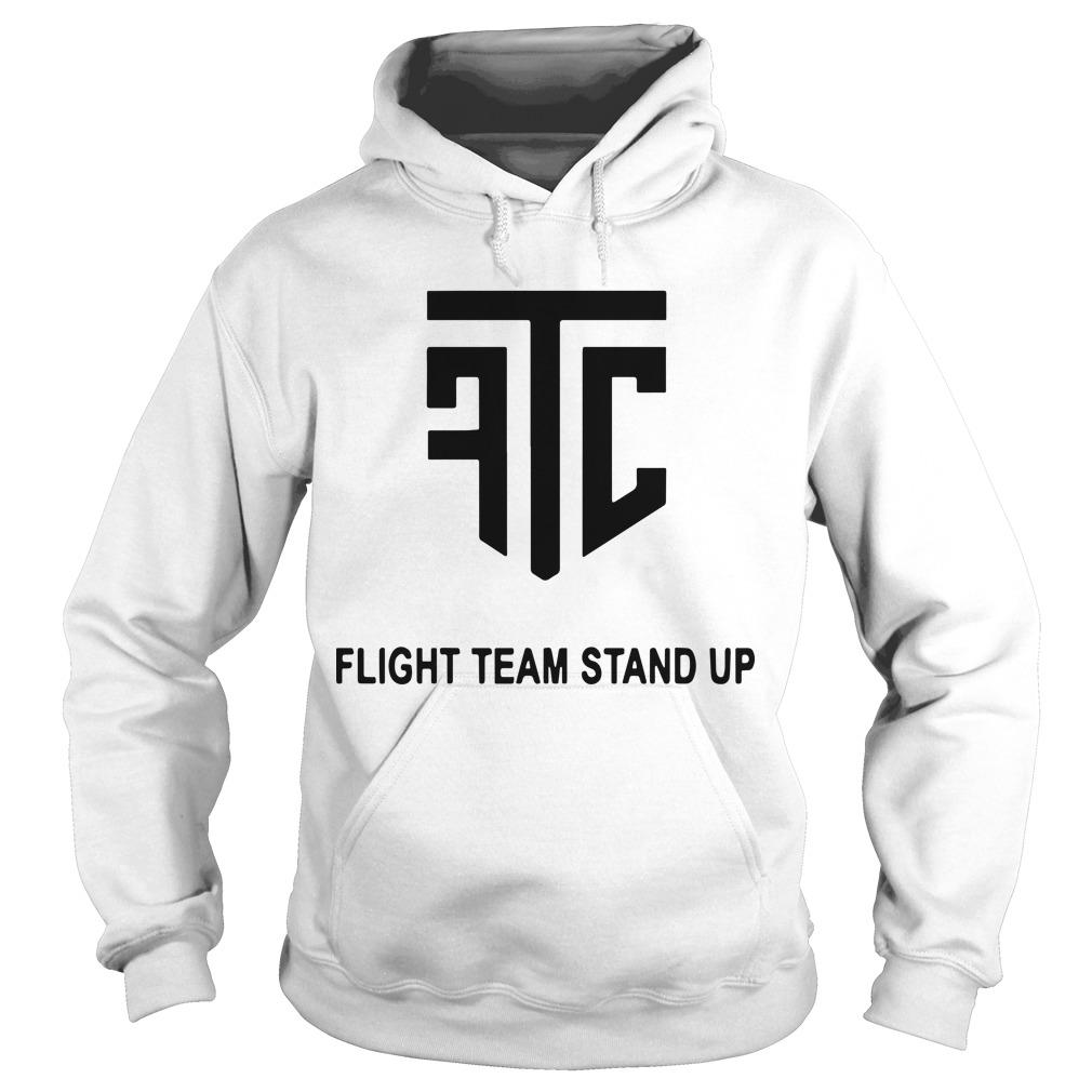 Flight Team Stand Up Hoodie