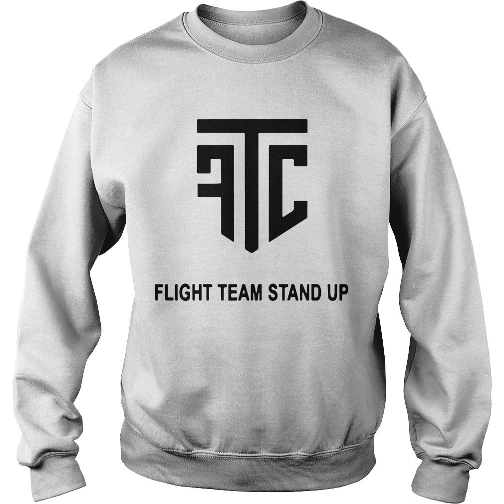 Flight Team Stand Up Sweater