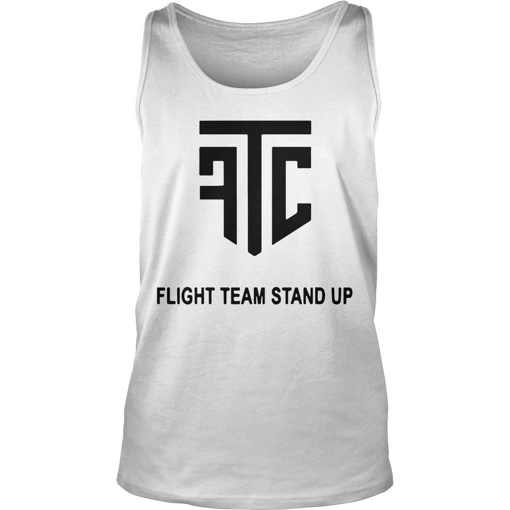 Flight Team Stand Up Tank Top