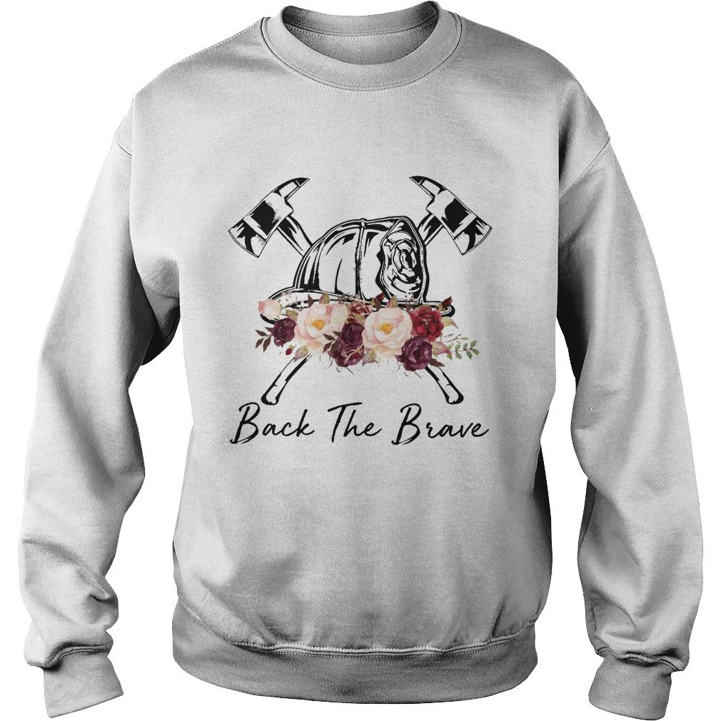 Flower Back The Brave Sweater