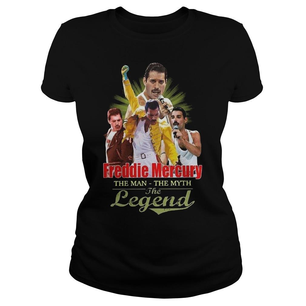 Freddie Mercury The Man The Myth The Legend Longsleeve