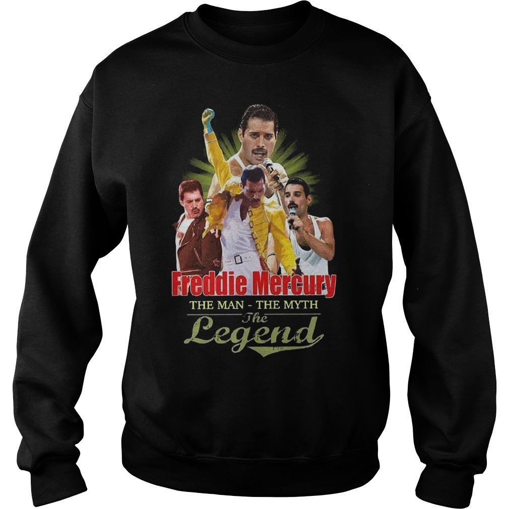 Freddie Mercury The Man The Myth The Legend Sweater