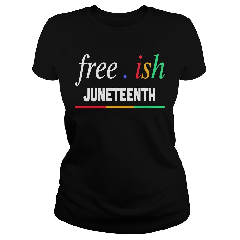 Free Ish Juneteenth Longsleeve