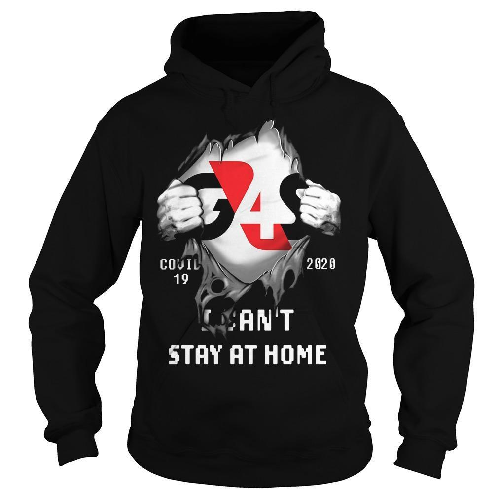 G4s Covid 19 2020 I Can't Stay At Home Hoodie