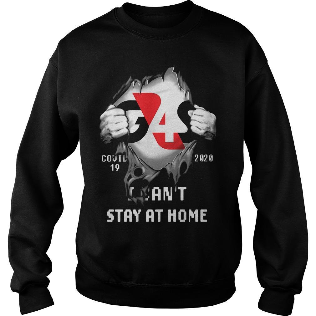 G4s Covid 19 2020 I Can't Stay At Home Sweater