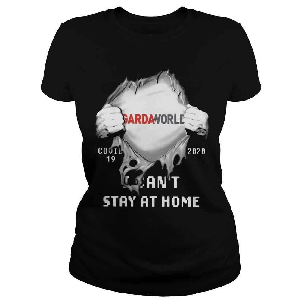 Gardaworld Covid 19 2020 I Can't Stay At Home Longsleeve