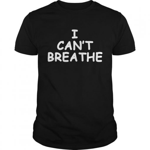 George Floyd Lebron James I Cant Breathe Shirt