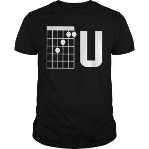Guitar Chords F U Shirt