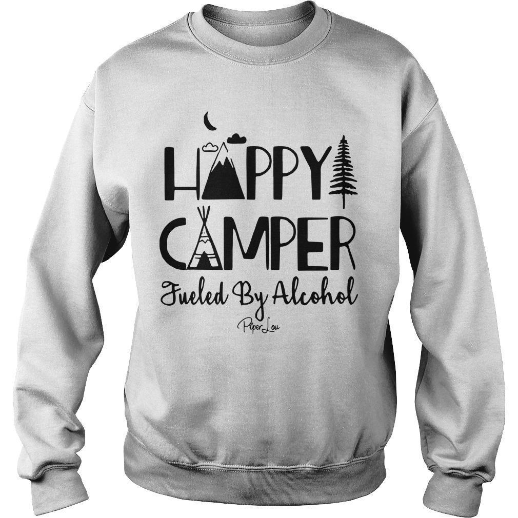 Happy Camper Fueled By Alcohol Sweater