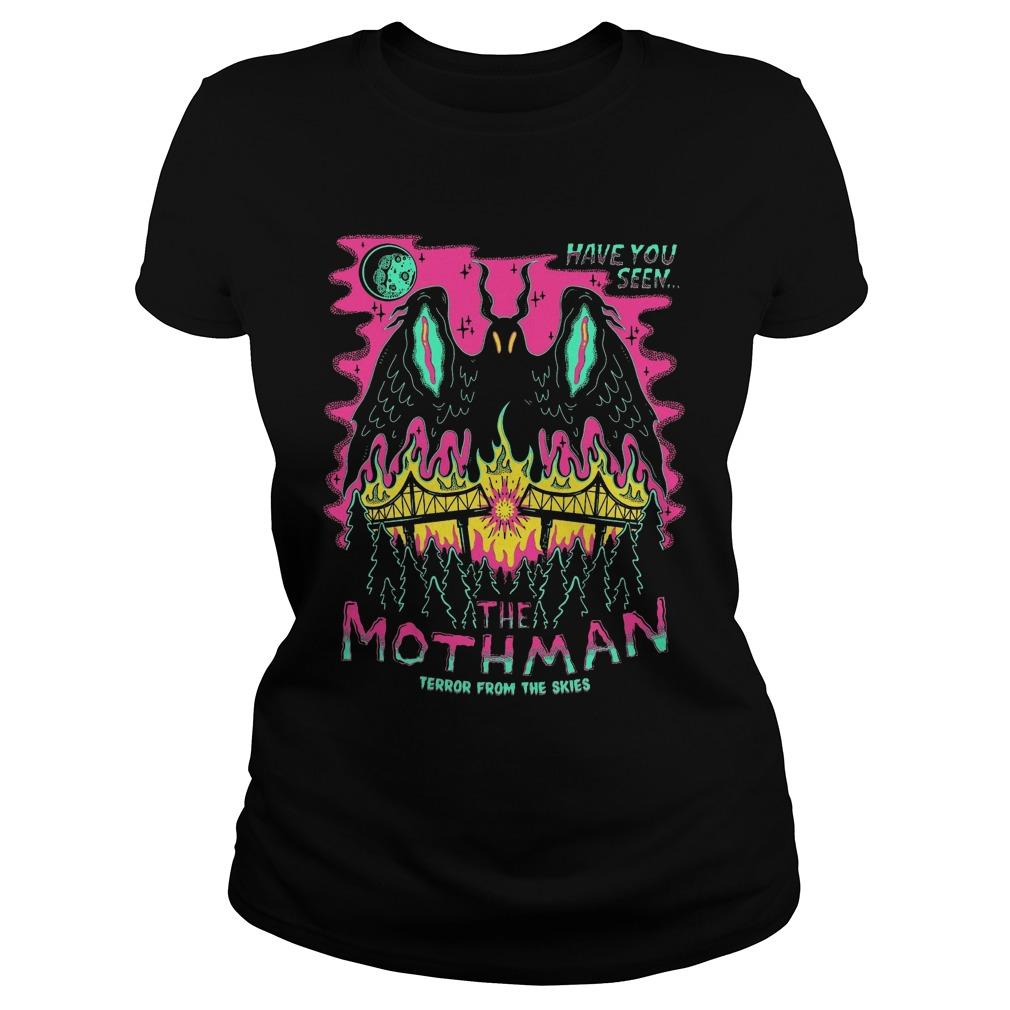 Have You Seen The Mothman Terror From The Skies Longsleeve