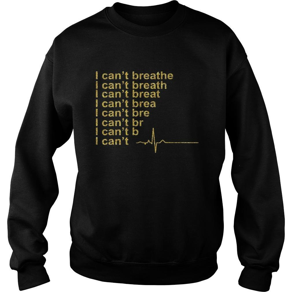 Heartbeat I Can't Breathe Sweater