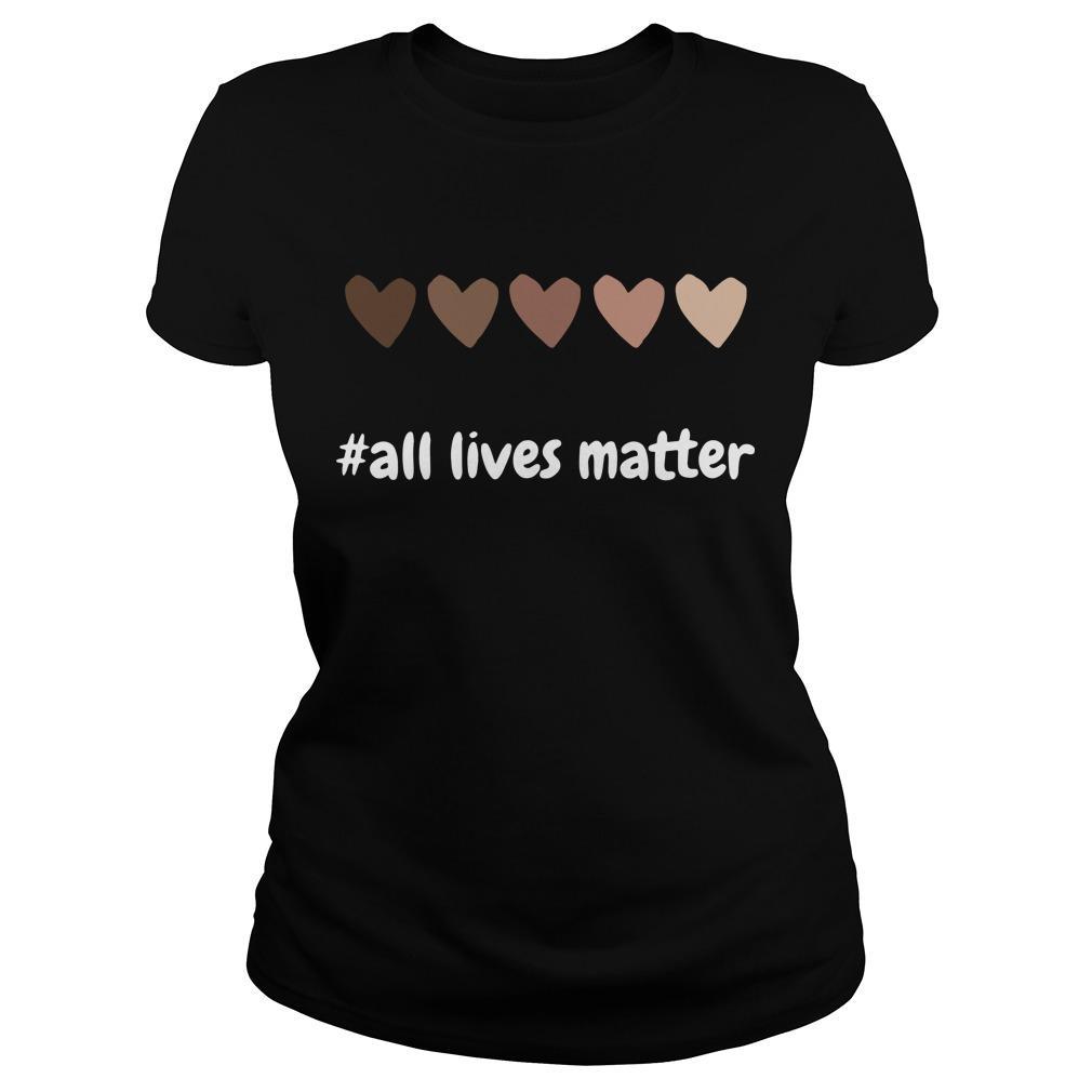Hearts All Lives Matter Longsleeve