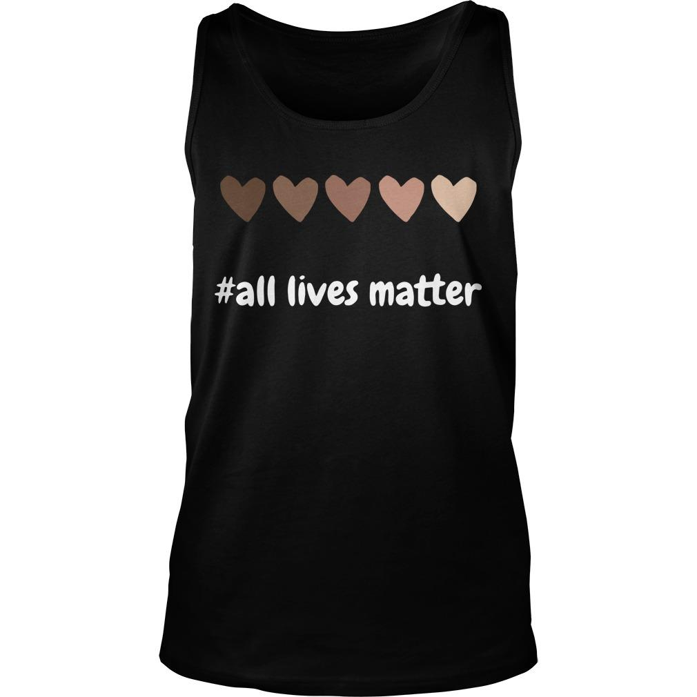 Hearts All Lives Matter Tank Top