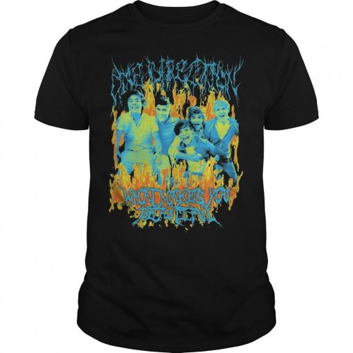 Heavy Metal One Direction Shirt