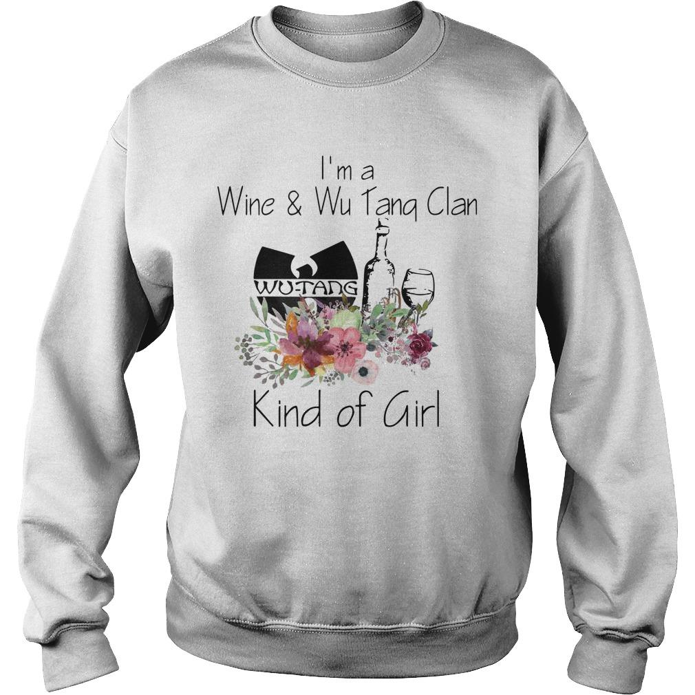 I'm A Wine And Wu Tang Clan Kind Of Girl Sweater