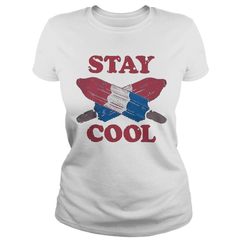 Ice Cream 4th Of July Stay Cool Longsleeve