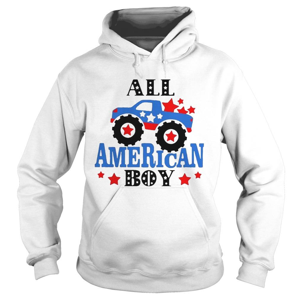 Independence Day All American Boy Hoodie