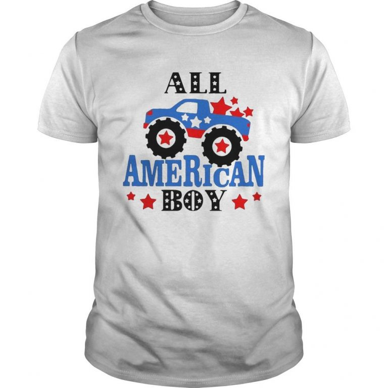 Independence Day All American Boy Shirt