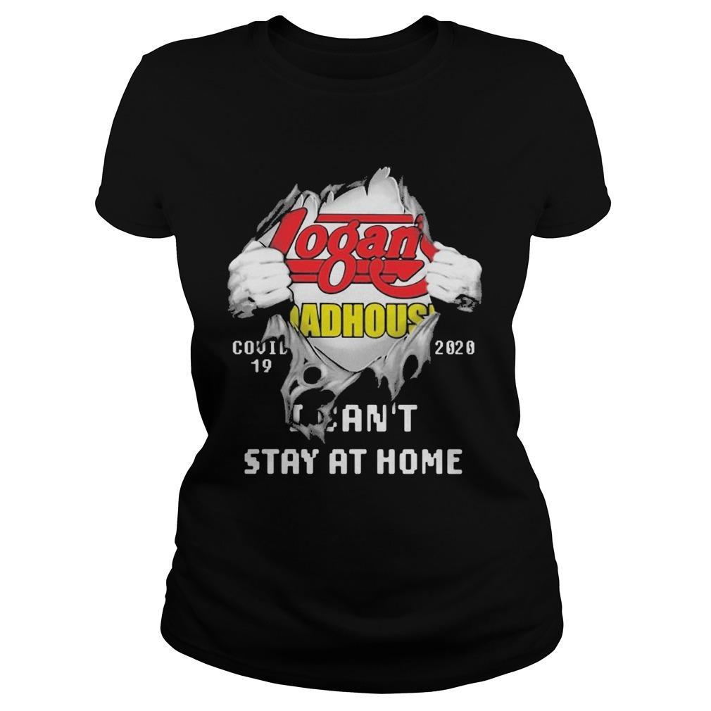 Inside Me Logan's Roadhouse Covid 19 2020 I Can't Stay At Home Longsleeve