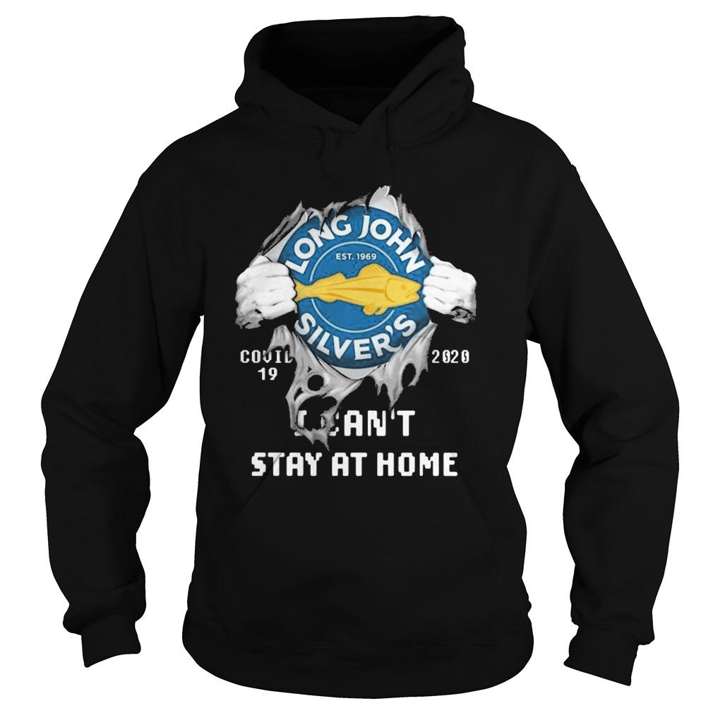 Inside Me Long John Silver's Covid 19 2020 I Can't Stay At Home Hoodie