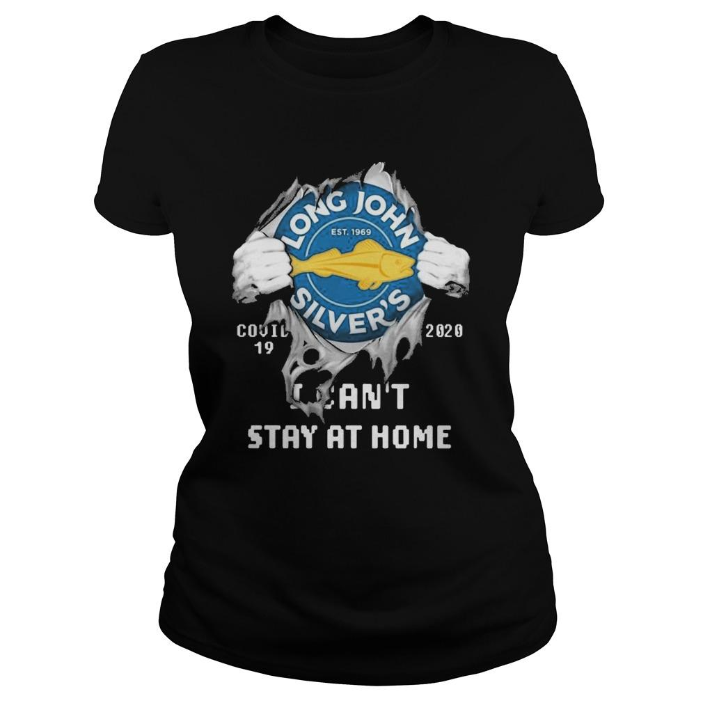 Inside Me Long John Silver's Covid 19 2020 I Can't Stay At Home Longsleeve