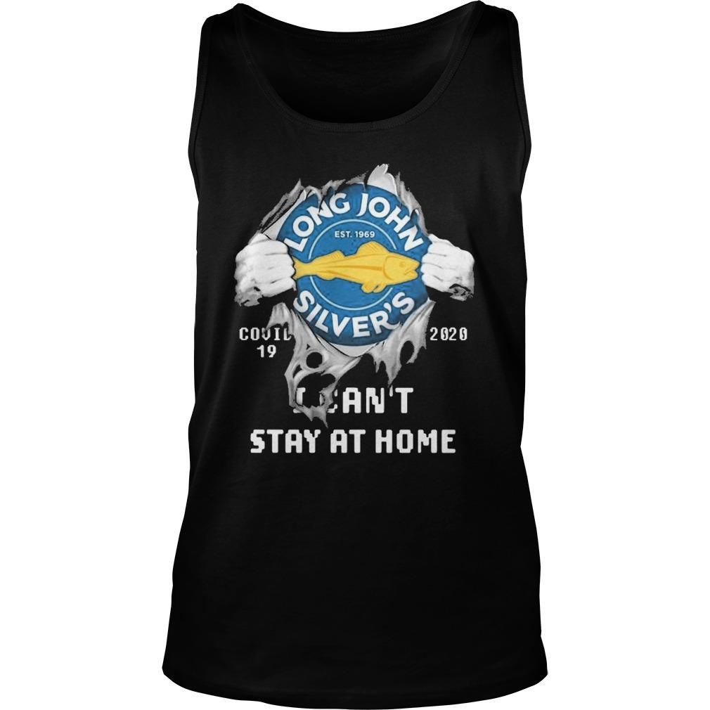 Inside Me Long John Silver's Covid 19 2020 I Can't Stay At Home Tank Top