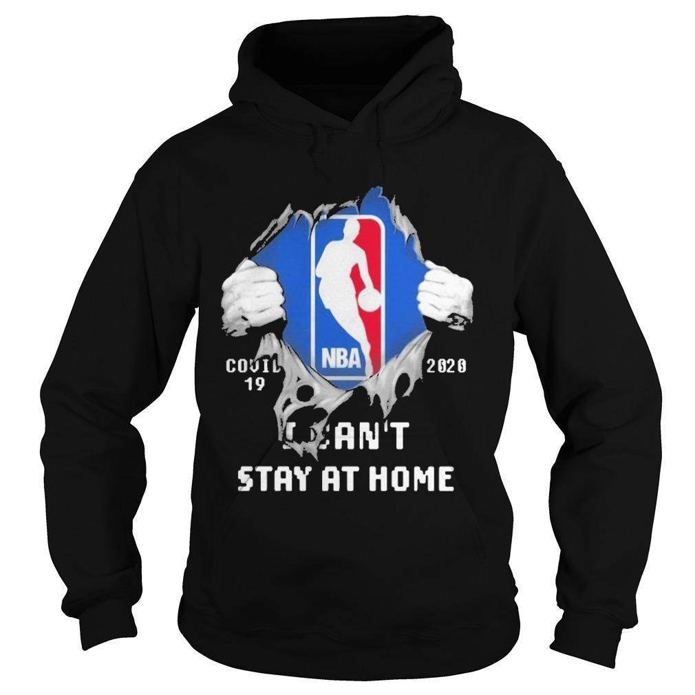 Inside Me Nba Covid 19 2020 I Can't Stay At Home Hoodie