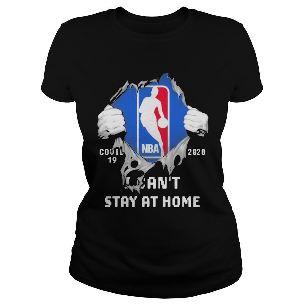 Inside Me Nba Covid 19 2020 I Can't Stay At Home Longsleeve