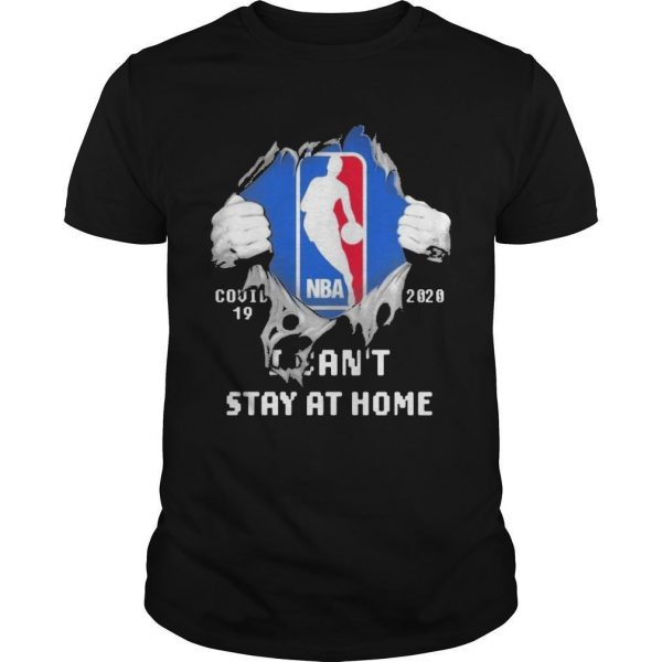 Inside Me Nba Covid 19 2020 I Can't Stay At Home Shirt