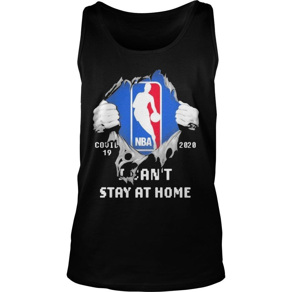 Inside Me Nba Covid 19 2020 I Can't Stay At Home Tank Top