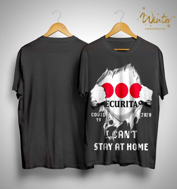 Inside Me Securitas Covid 19 2020 I Can't Stay At Home Shirt