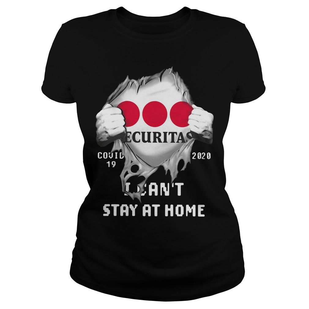 Inside Me Securitas Covid 19 2020 I Can't Stay At Home Tank Top