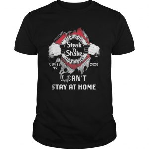 Inside Me Steak 'N Shake Covid 19 2020 I Can't Stay At Home Shirt