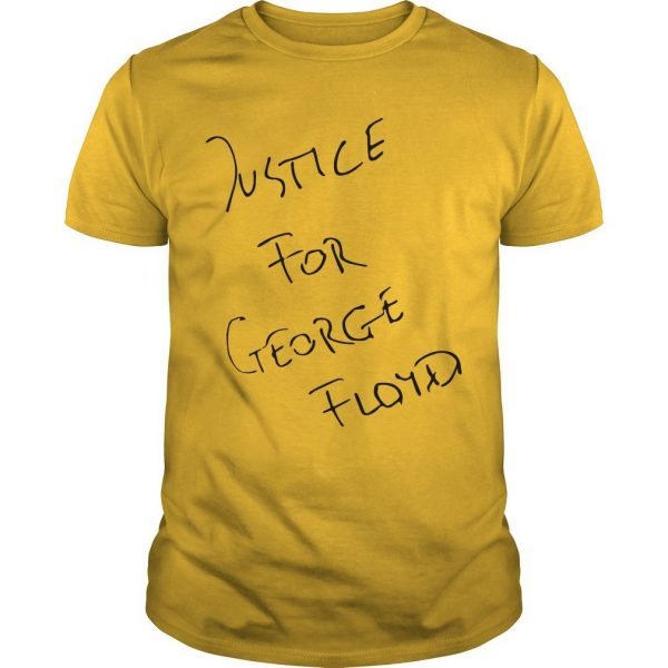 Jadon Sancho Justice For George Floyd Shirt