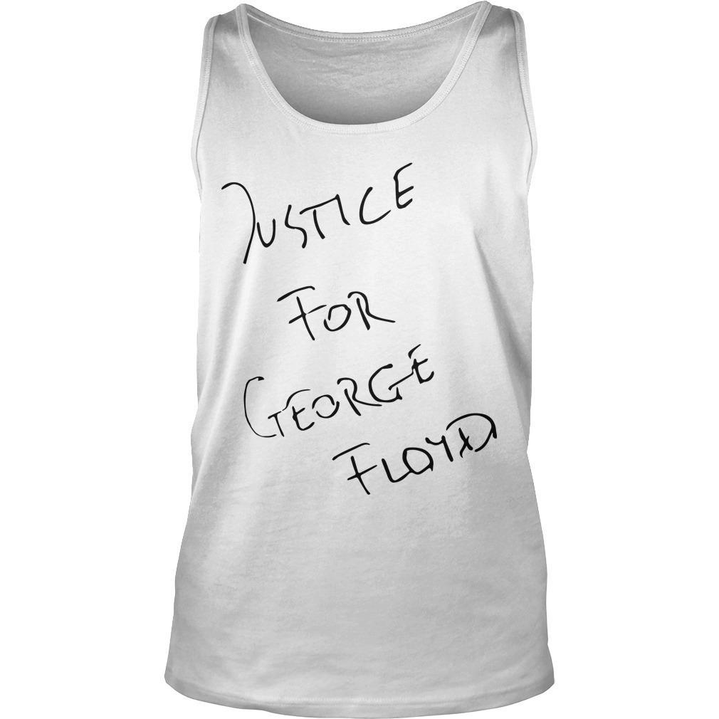 Jadon Sancho Justice For George Floyd Tank Top
