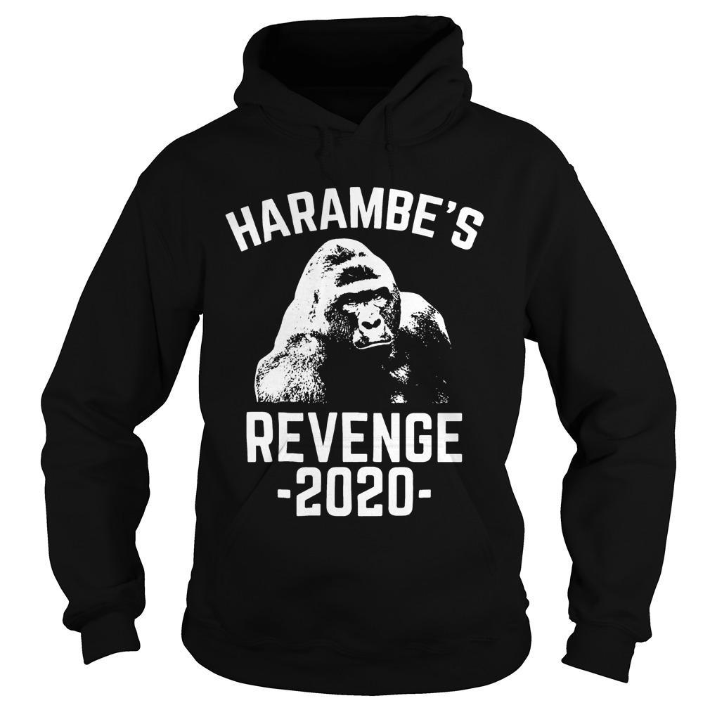 King Kong Harambe's Revenge 2020 Hoodie
