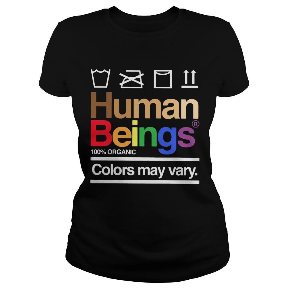 LGBT Human Beings 100 Organic Colors May Vary Longsleeve