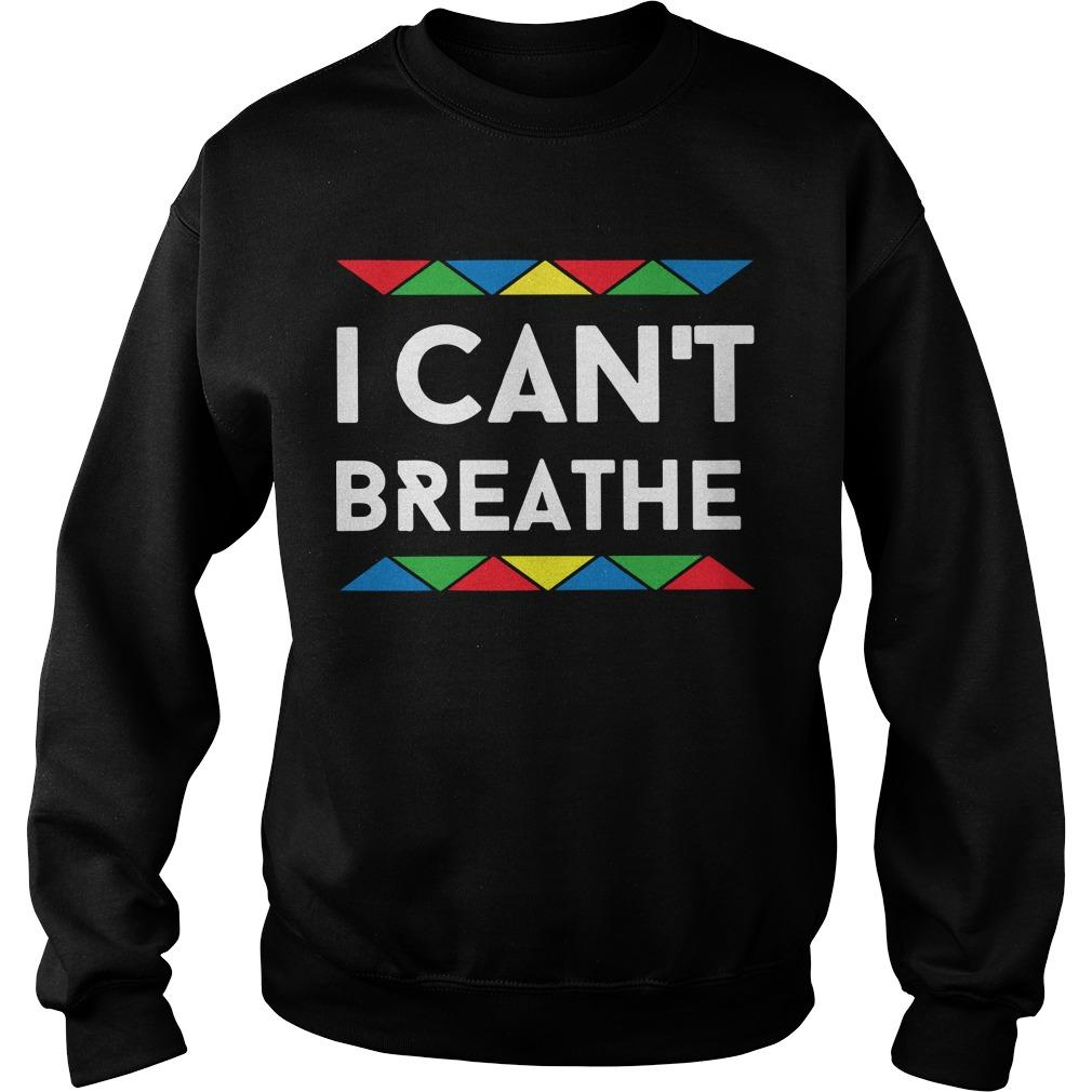Lgbt I Can't Breathe Sweater