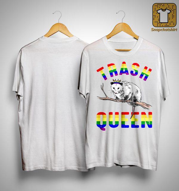 Lgbt Opossum Trash Queen Shirt