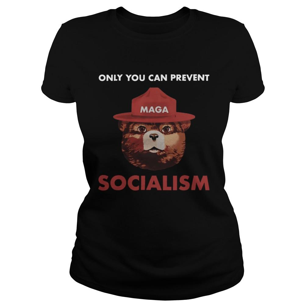 Maga Only You Can Prevent Socialism Longsleeve