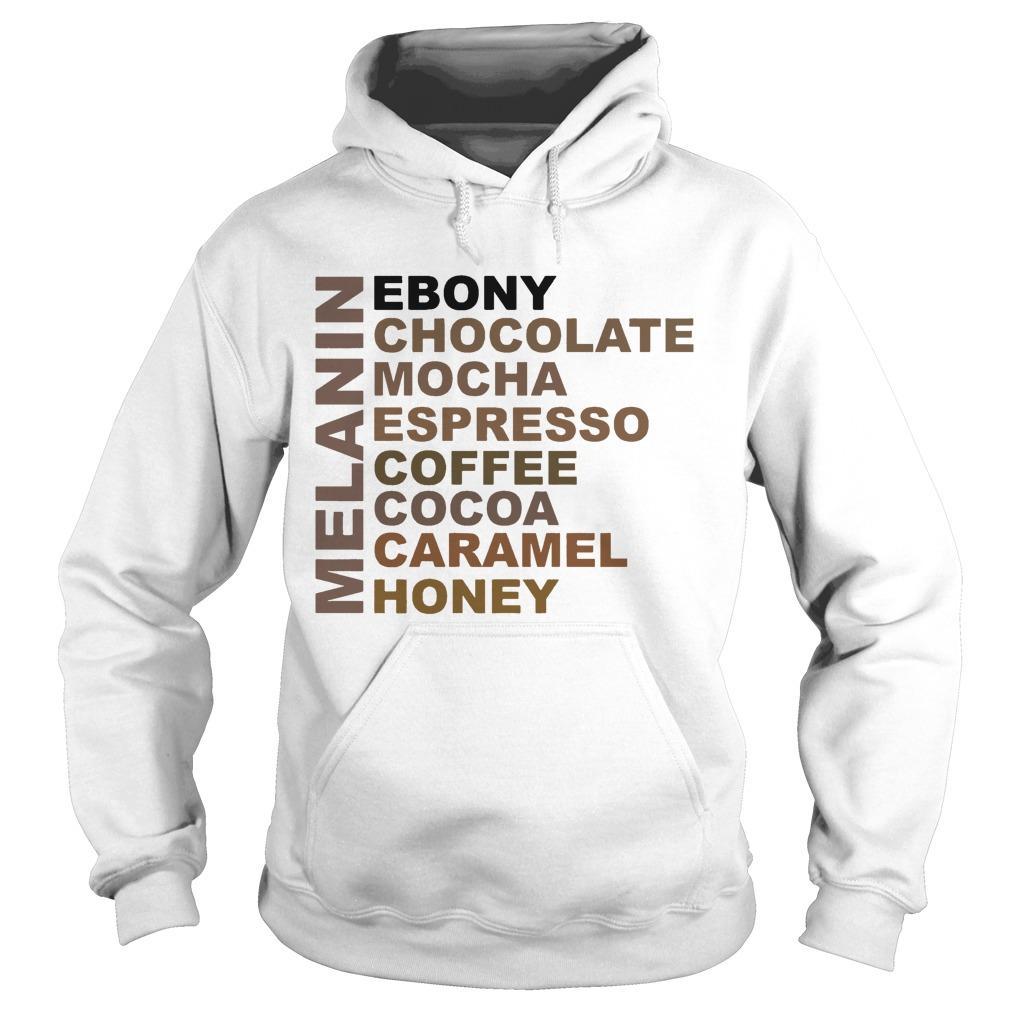 Melanin Ebony Chocolate Mocha Espresso Coffee Hoodie