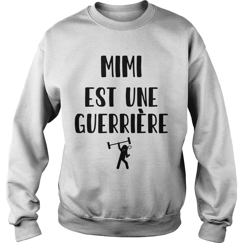 Mimi Est Une Guerrière Sweater