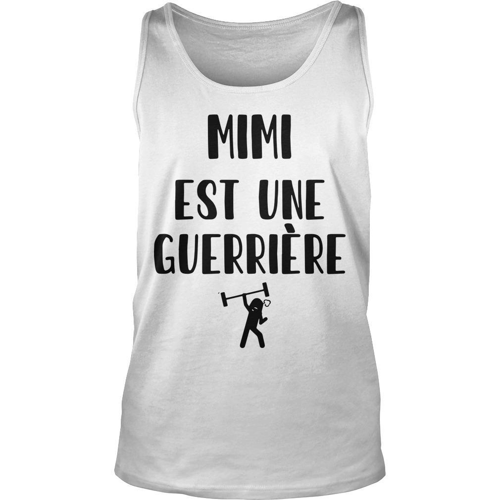 Mimi Est Une Guerrière Tank Top