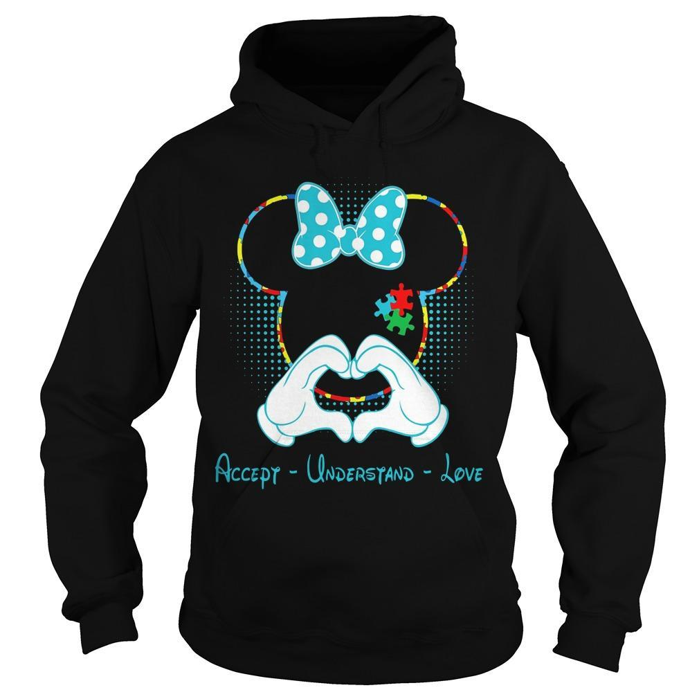 Minnie Mouse Accept Understand Love Hoodie