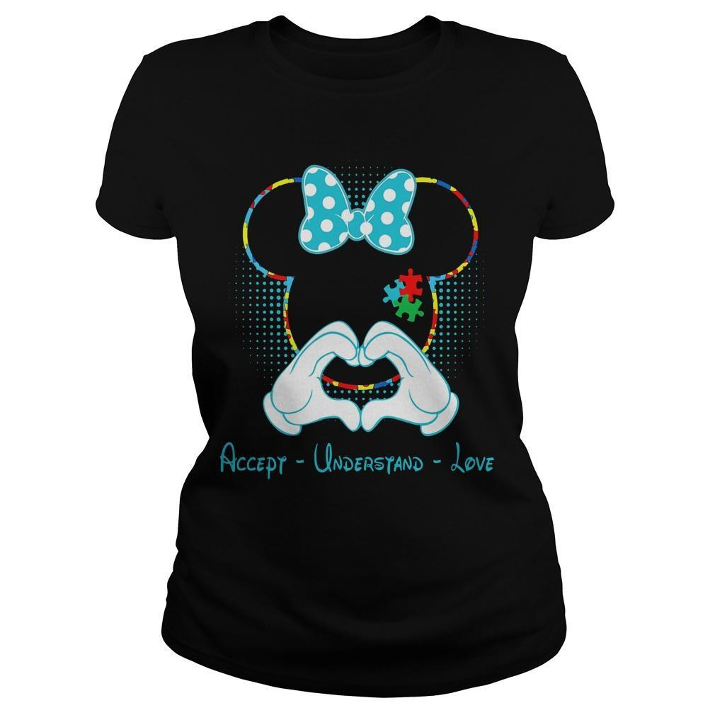 Minnie Mouse Accept Understand Love Longsleeve