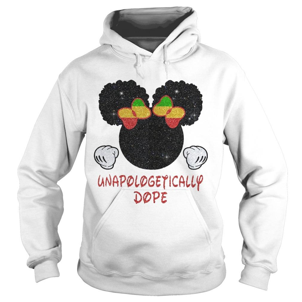 Minnie Mouse Unapologetically Dope Hoodie
