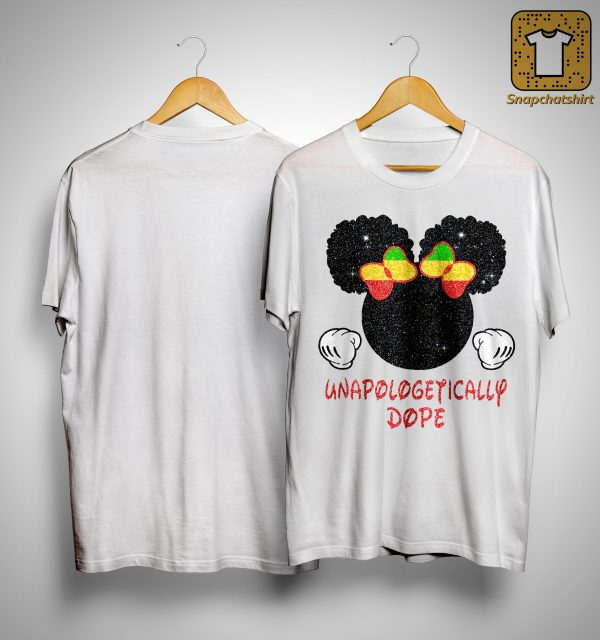 Minnie Mouse Unapologetically Dope Shirt