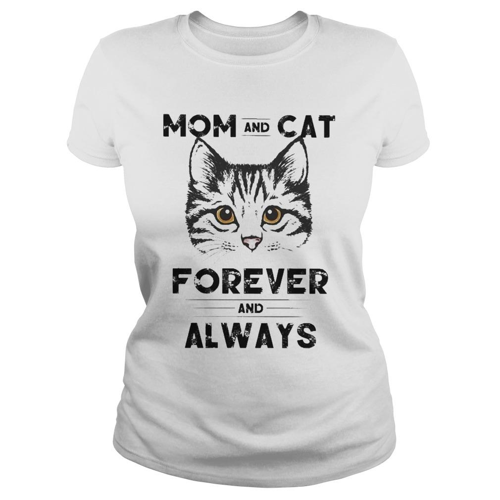 Mom And Cat Forever And Always Longsleeve