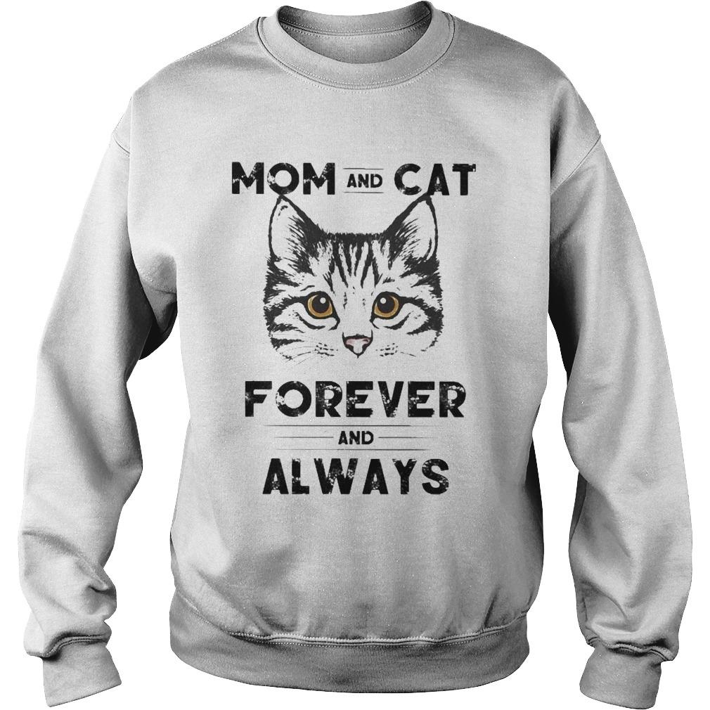 Mom And Cat Forever And Always Sweater